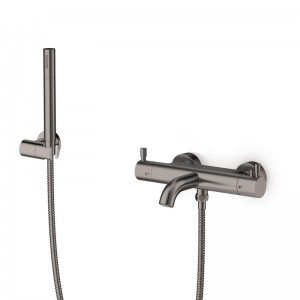 Pack bain / douche thermostatique inox brossé LOOP 3