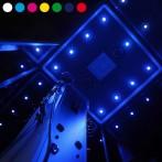 Spots de Chromothérapie LED ICOLOR+ (choix de la couleur et réglage de l'intensité)