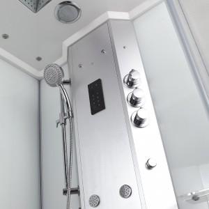 Colonne hydromassante avec technologie Safe Access / robinetterie thermostatique / computer tactile Bluetooth
