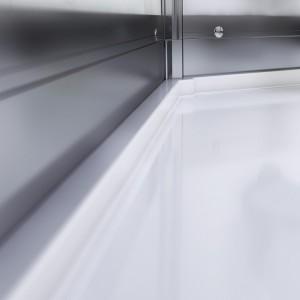 Receveur en composite | Profilés en aluminium mat