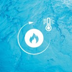Maintien de la température du bain pour plus de confort