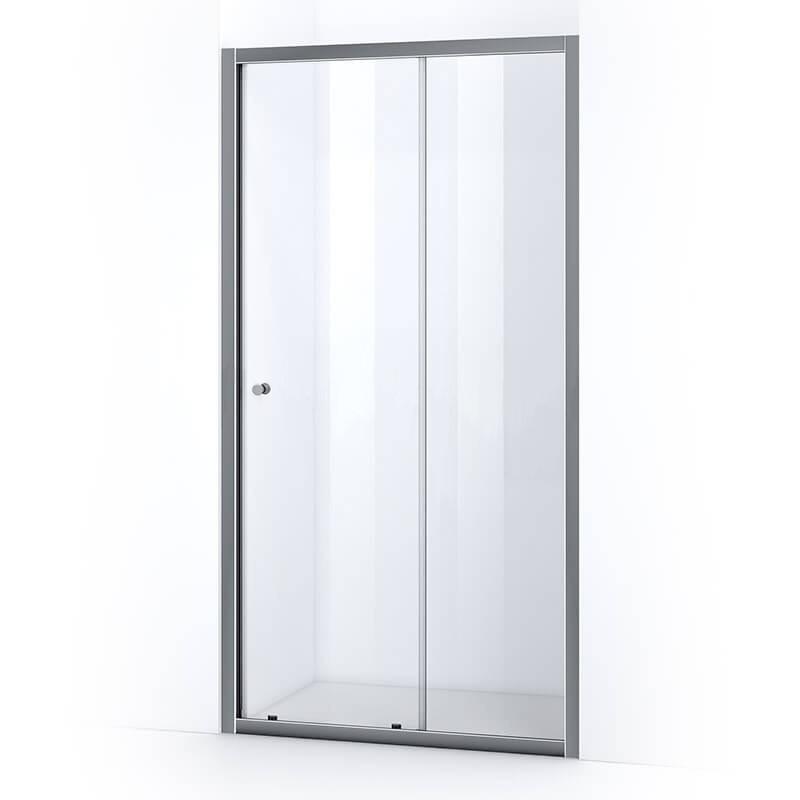 Porte de douche 120 cm avec ouverture coulissante