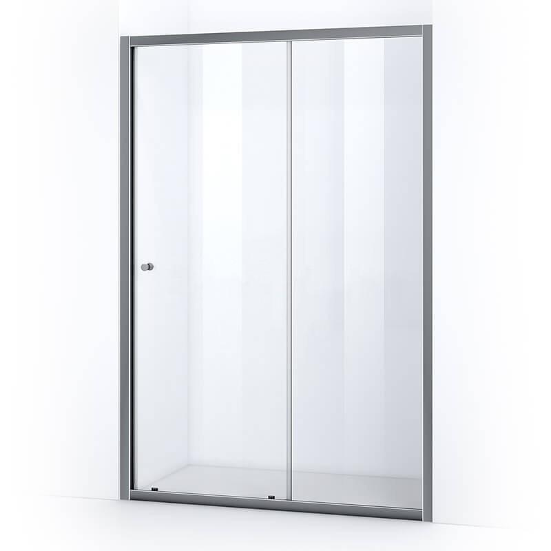Porte de douche 140 cm avec ouverture coulissante