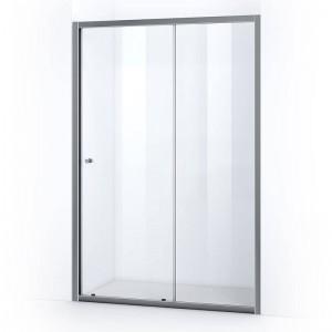 Porte de douche 150 cm avec ouverture coulissante