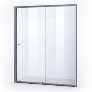 Porte de douche 160 cm avec ouverture coulissante