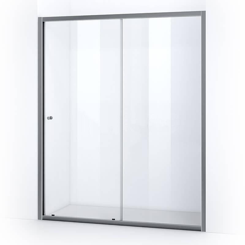 Porte de douche 180 cm avec ouverture coulissante
