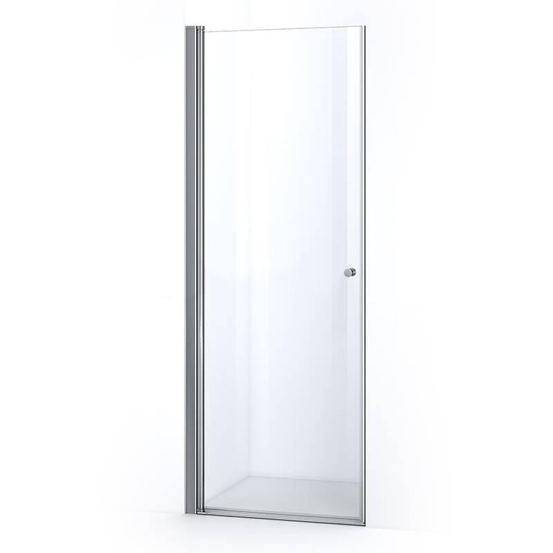 Porte de douche SINA 80 cm avec ouverture battante (réversible)