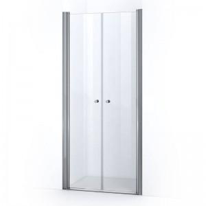 Portes de douche battantes ELBA 80 cm