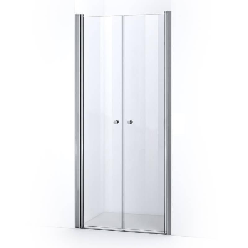 Portes de douche battantes ELBA 90 cm