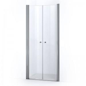 Portes de douche battantes ELBA 100 cm