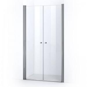 Portes de douche battantes ELBA 115 cm