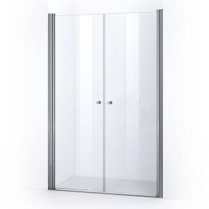Portes de douche battantes ELBA 135 cm