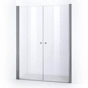 Portes de douche battantes ELBA 155 cm