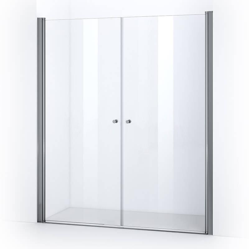 Portes de douche battantes ELBA 175 cm