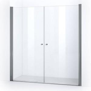 Portes de douche battantes ELBA 195 cm
