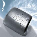 Bec cascade (en laiton chromé) intégré à la coque