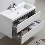 Large ouverture des tiroirs pour un accès facile