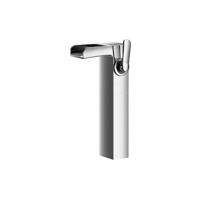 Robinet mitigeur haut avec bec cascade pour lavabo