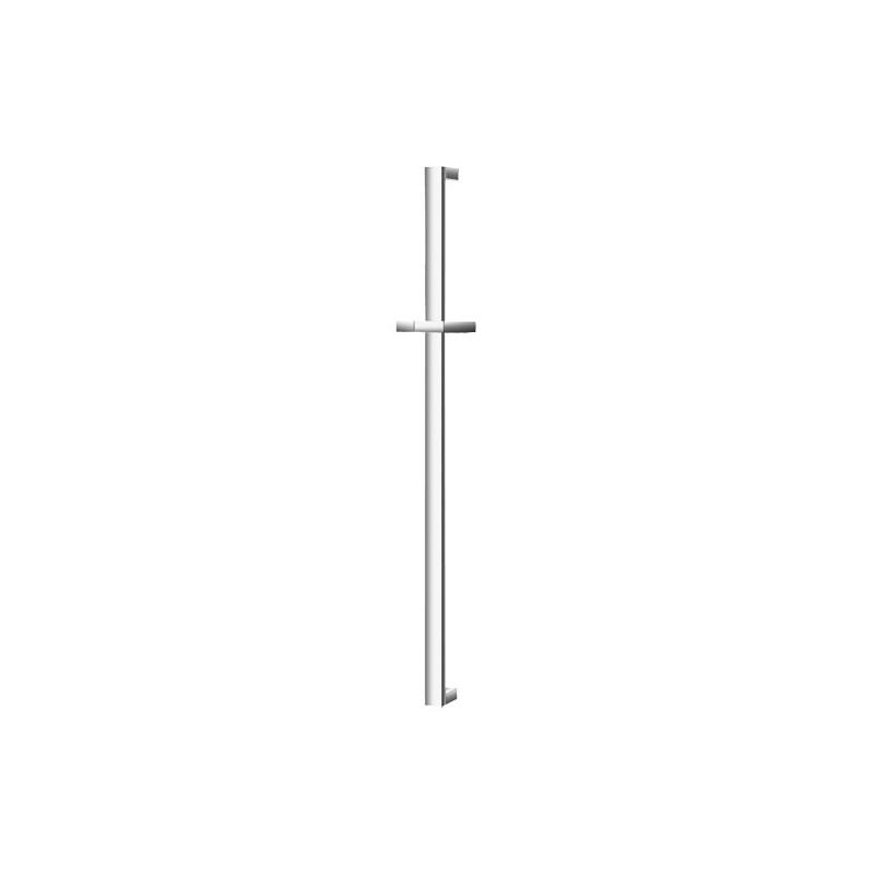 Barre avec support de douchette ajustable en hauteur