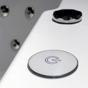 Touch Panel sensitif pour contrôler la balnéo
