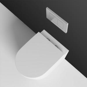 WC suspendu MEZZO, design épuré et conception de qualité