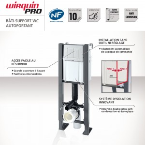 Bâti-support autoportant WIRQUIN PRO COMPACT PLUS