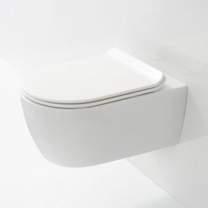 WC suspendu SANEO, design épuré et conception de qualité