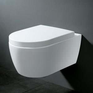 WC suspendu CLARIO, design épuré et conception de qualité