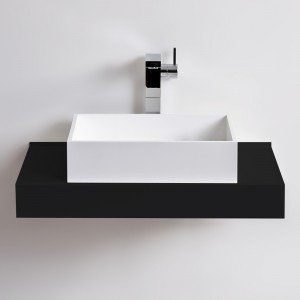 Vasque rectangulaire SQUARE en Solid Surface