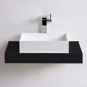 Vasque rectangulaire SQUARE en Solid Surface