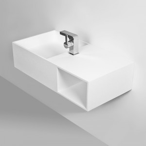Vasque KUBE 80 en Solid Surface