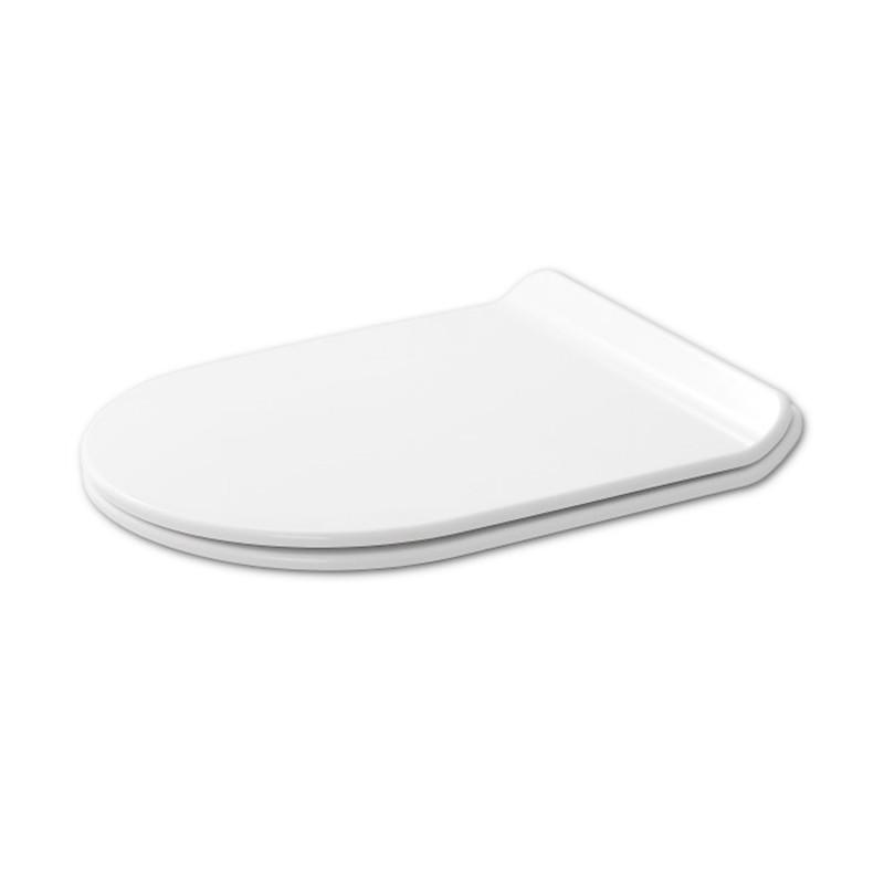 """Abattant """"slim"""" en Thermodur pour WC suspendu modèle SANEO"""
