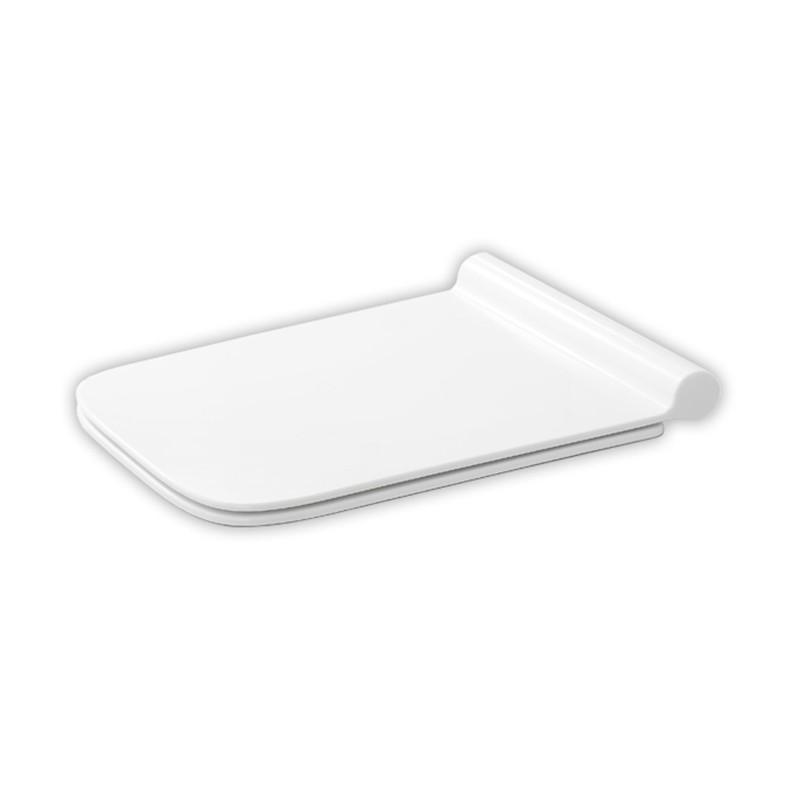 """Abattant """"slim"""" en Thermodur pour WC suspendu modèle COSMO"""