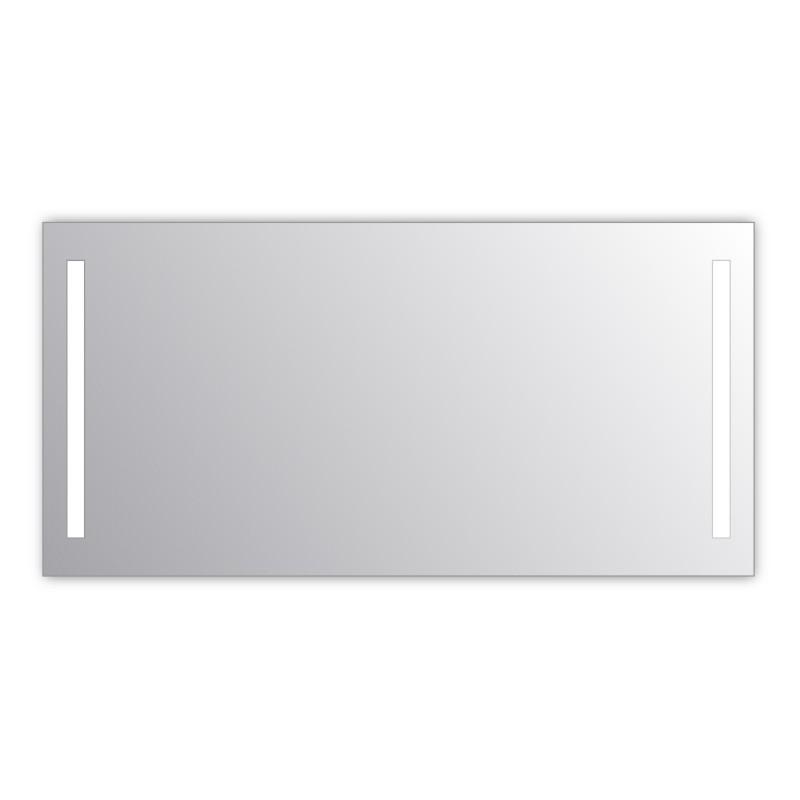 Miroir salle de bain VISIO 150x75 cm avec rétroéclairage LED et prises électriques