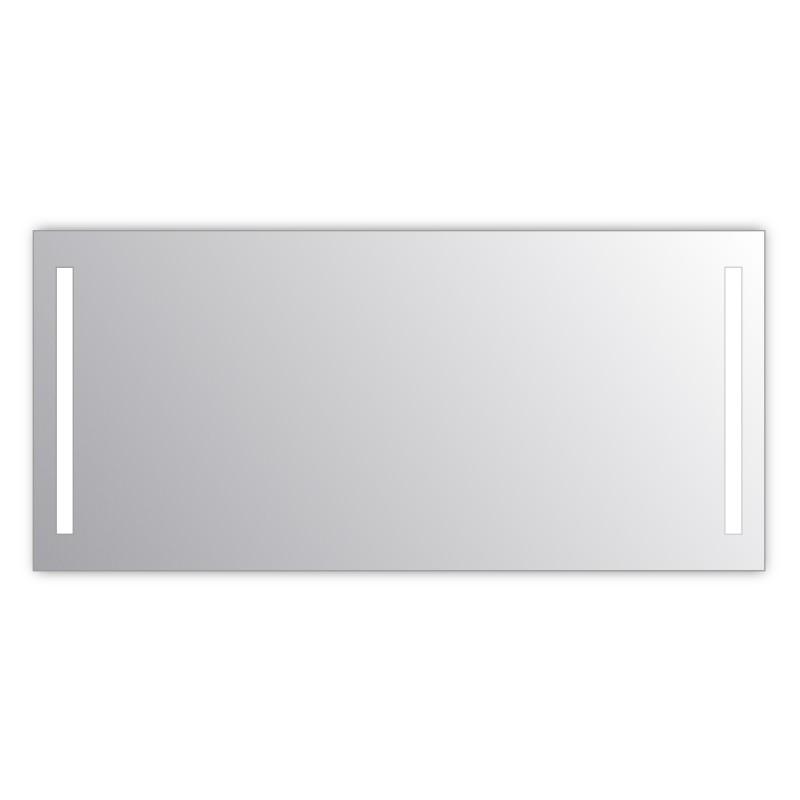Miroir salle de bain VISIO 160x75 cm avec rétroéclairage LED et prises électriques