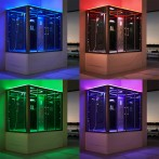 Chromothérapie LED ICOLOR+ (choix de la couleur) et lumière d'ambiance