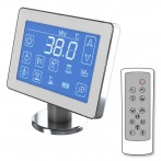 Ordinateur de contrôle Bluetooth avec écran tactile et télécommande