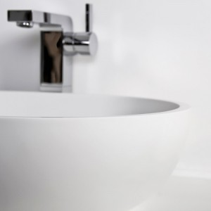 Solidité incomparable de la vasque, résistant aux tâches et à l'humidité