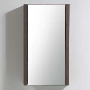 Miroir salle de bain KELLY 45x80 cm finition Legno
