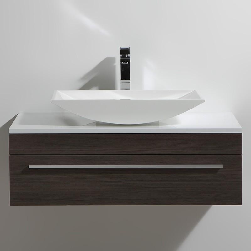Meuble salle de bain 90 cm CURL legno