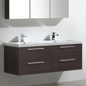 Meuble salle de bain 144 cm TWIN legno
