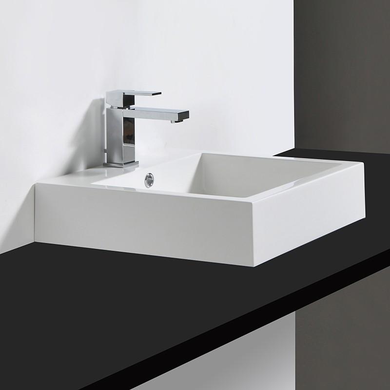 Vasque KELLY 45 x 45 cm en composite