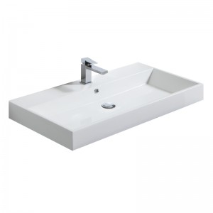 Vasque BLISS 90 x 48 cm en composite