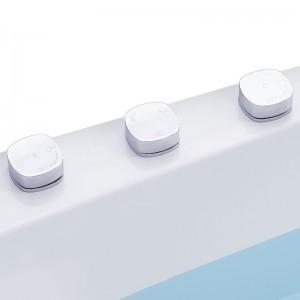 Robinetterie 3 éléments en laiton chromé haute qualité