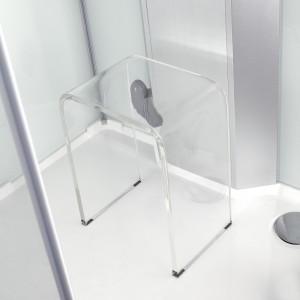 Siège pour douche en acrylique