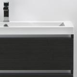 Vasque 100 cm en marbre de synthèse