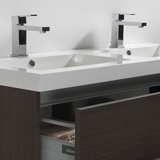 Vasque 120 cm en marbre de synthèse