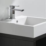 Vasque 80 cm en marbre de synthèse