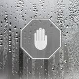 Miroir avec traitement anti-buée