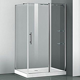 Parois de douche receveur rectangulaire